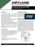 Isp Technical Literature