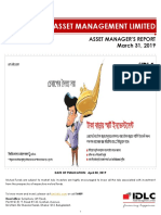 Asset Manager's Report-2019