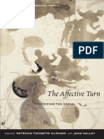 Politics and the Emotions -The Affective Turn in Contemporary Political Studies