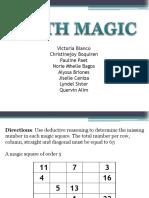 Math Magic Final