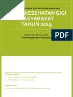 Evaluasi Program Kesehatan Gigi Dan Mulut Jan - Jun 2019