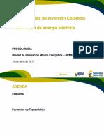 Lineas de Transmision en Colombia