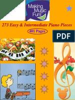273 Easy & Intermediate Piano Pieces.pdf