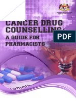 Cancer Drug Counselling Guide Pharmacists 2016