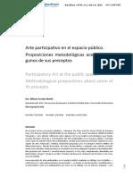 Arte participativo en el espacio publico - Art. barcelona.pdf