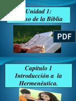 1. Definicion de Hermaneutica y La Necesidad de Estudiarla