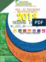 NETI FinalCalendar 2018
