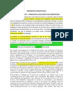 Referentes Conceptuales Docencia y Evaluación