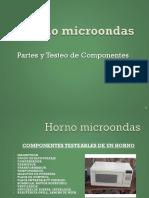 Guía Reparación de Horno Microondas Partes y Testeo Componentes