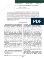 Behavior Analysis and Neuroscience (1)