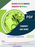 12.World Geography (UPSC-2020)