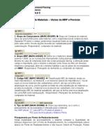 Parametros MRP Completo