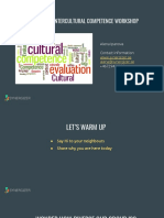 Intercultural Competence Workshop 1
