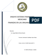 Ensayo sistema financiero mexicano