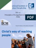 01 Principles of Evangelism in the Life of Jesus
