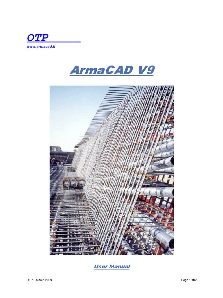 ARMACAD V9 TÉLÉCHARGER