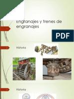 Clase 12 Engranajes y Trenes de Engranajes