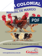 Manual de Manejo Frango Colonial Globoaves