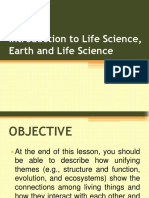Introduction to Life Science, Earth and Life