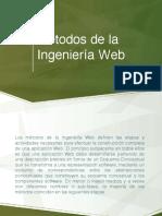 Ingenieria Web 2.1 Metodos de La Ingenieria Web