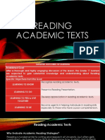 Powerpoint in Reading Academic Texts