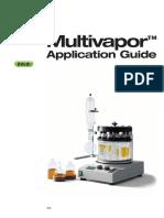 Application Guide Multivapor 1205 Komplett