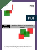 Deconcentration_Decentralisation_Maroc