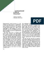 Amitai Etzioni - Organizational control structure