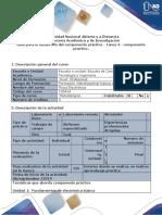 Guía Para El Desarrollo Del Componente Práctico - Tarea 4 - Componente Práctico