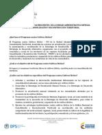 Inventario Preguntas Frecuentes Dpci Actualizada a Dic de 2014