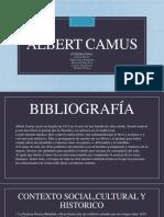 PENSAMIENTO DE ALBERT CAMUS