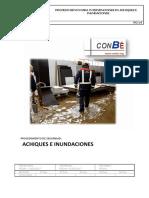 achiques e inundaciones