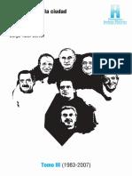Elecciones en La Ciudad (Cantón y Jorrat) Tomo 3