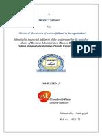 Seminar Report Sahil Goyal 1172(Gsk)