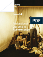 Level 4 Professional Diploma in Performance Specification v6