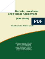 Capital Markets Assignment