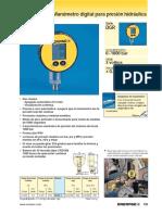 Manometro Digital Enerpac