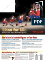 Residential Basketball Equipment