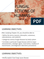Fungal Infections of Humans
