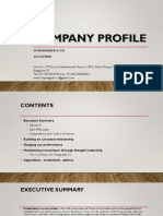 Company Profile Panigrahi