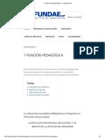 1 Función Pedagógica - 1 Preceptor