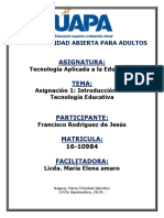 TAREA I TECNOLOGIA APLICADA A LA EDUCACION.docx