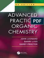 John Leonard_ Barry Lygo_ Garry Procter - Advanced Practical Organic Chemistry-CRC Press (2013)