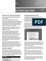 HOC Newsletter - April 2009