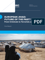 European Jihad Future of the Past Final Report