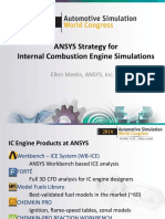 Internal Combustion Engine Simulations