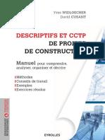 DESCRIPTIFS ET CCTP