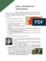 (Corto) Música y Política _ Shostakovich, Prokofiev y Khachaturian