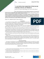 Epigenética y los espacios arquitectónicos de la vivienda social en México.