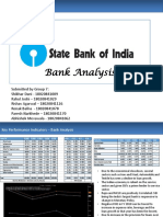 Bank Analysis SBI Group7